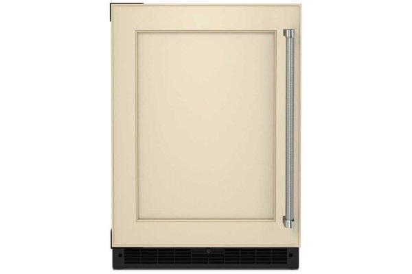 "Large image of KitchenAid 24"" Custom Panel Left-Hinge Undercounter Refrigerator - KURL114KPA"