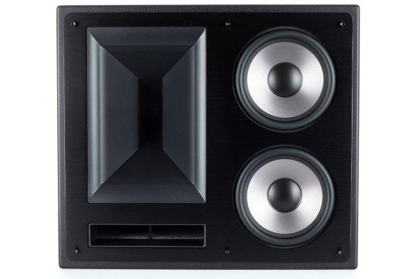 """Large image of Klipsch 6.5"""" THX-6000-LCR-L Black 2-Way THX Ultra2 Certified LCR Loudspeaker (Each) - 1068690"""