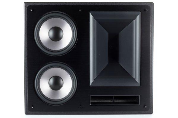 """Large image of Klipsch 6.5"""" THX-6000-LCR-R Black 2-Way THX Ultra2 Certified LCR Loudspeaker (Each) - 1068689"""