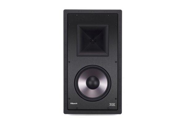 """Large image of Klipsch 8"""" THX-8000-L White THX Ultra2 Certified 2-Way In-Wall Speaker (Each) - 1066109"""
