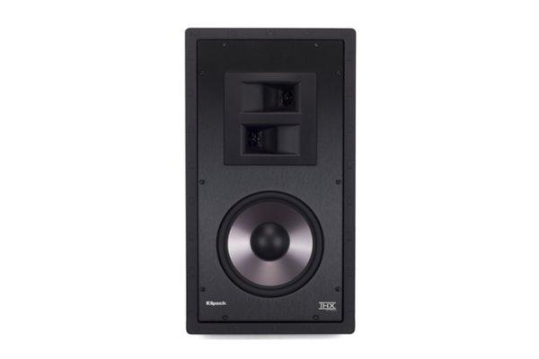 """Large image of Klipsch 8"""" THX-8000-S White THX Ultra2 Certified 2-Way In-Wall Speaker (Each) - 1066110"""
