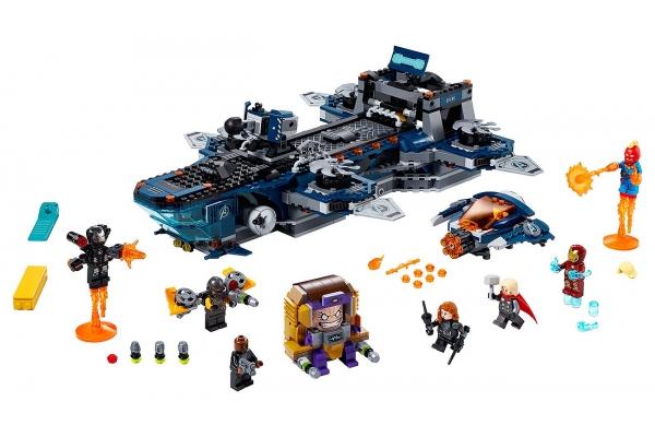 Large image of LEGO Marvel Avengers Helicarrier - 76153