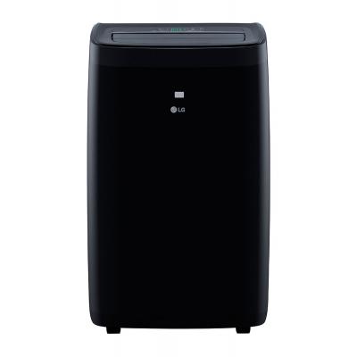 LG 10,000 BTU 115V 3-in-1 Black Smart Wi-Fi Portable Air Conditioner