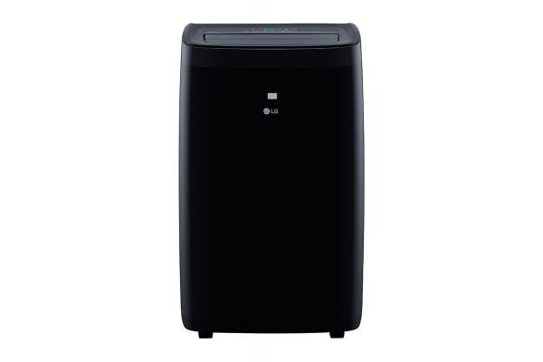 Large image of LG 10,000 BTU DOE (14,000 BTU ASHRAE) 115V Black Smart Wi-Fi Portable Air Conditioner - LP1021BSSM