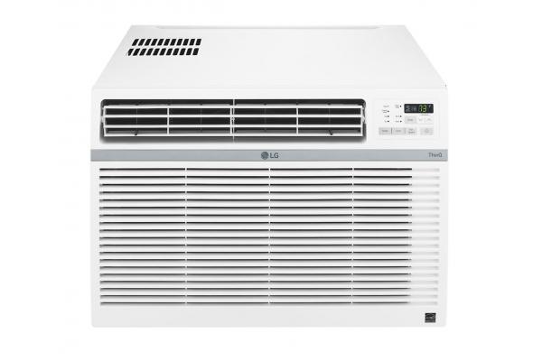 Large image of LG 15,000 BTU 11.9 EER 115V Smart Window Air Conditioner - LW1521ERSM