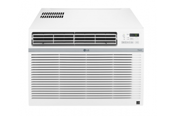 Large image of LG 18,000 BTU 11.9 EER 208V Smart Window Air Conditioner - LW1821ERSM