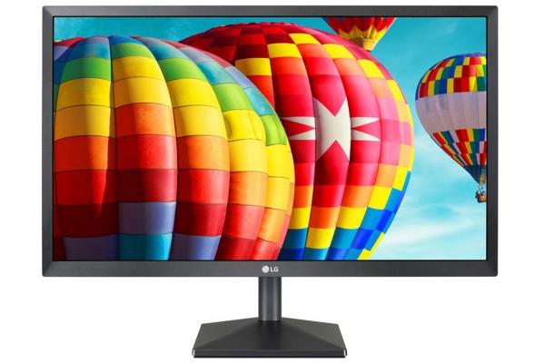 "Large image of LG 24"" Black Full HD IPS LED Gaming Monitor With AMD FreeSync - 24MK430H-B.AUS"