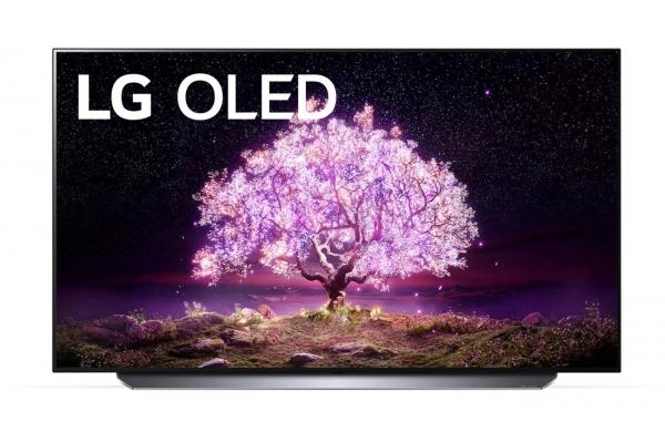 """Large image of LG 48"""" C1 4K HDR Smart OLED TV With AI ThinQ - OLED48C1PUB"""
