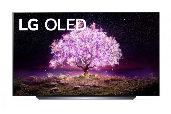 """Large image of LG 77"""" C1 4K HDR Smart OLED TV With AI ThinQ - OLED77C1PUB"""
