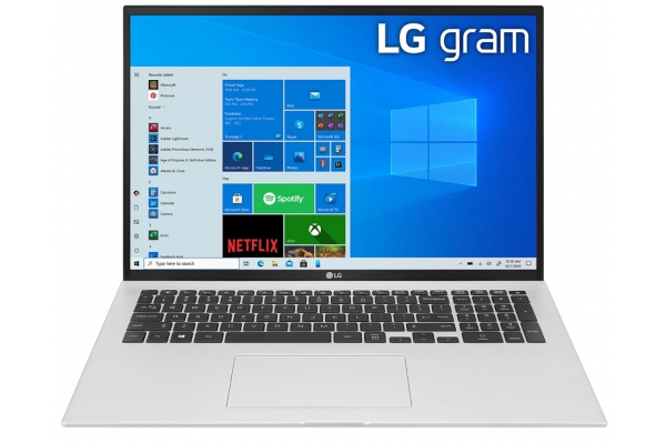 "Large image of LG Gram 17"" Silver Ultra-Lightweight And Slim Laptop Intel i7-1165G7 16GB RAM 2TB SSD, Intel Iris Xe Graphics - 17Z90P-K.AAS9U1"