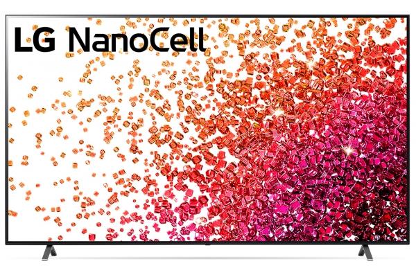 "Large image of LG 55"" NanoCell 75 Series 4K Smart UHD TV With AI ThinQ (2021) - 55NANO75UPA"