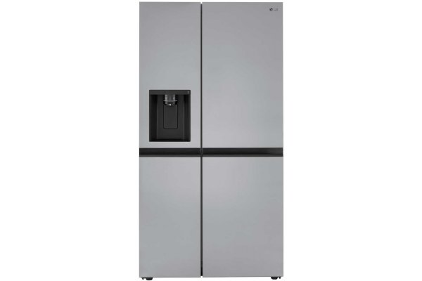 Large image of LG 27.16 Cu. Ft. PrintProof Stainless Steel Side By Side Refrigerator - LRSXS2706S