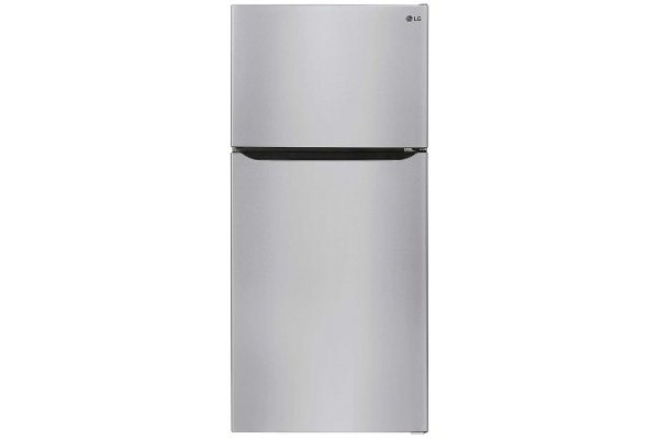 Large image of LG 23.8 Cu. Ft. Stainless Steel Top Mount Refrigerator With Internal Water Dispenser - LRTLS2403S