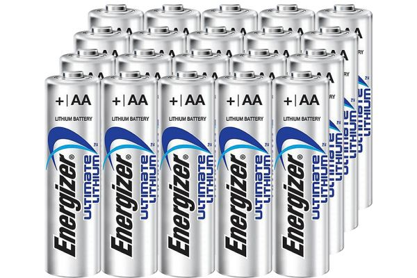 Large image of Energizer Ultimate AA Lithium Battery (20 Pack) - LITHIUMAA20PACK-E