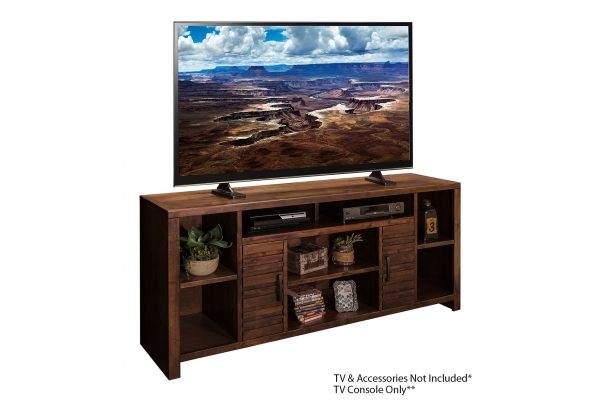 """Large image of Legends Furniture Sausalito 74"""" TV Console - SL1275-WKY"""