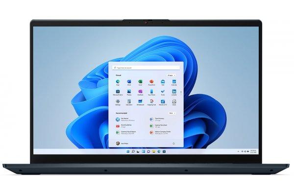 "Large image of Lenovo IdeaPad 5 15ITL05 15"" Abyss Blue Notebook Intel i5-1135G7 16GB RAM 512GB SSD, Iris Xe Graphics - 82FG015RUS"