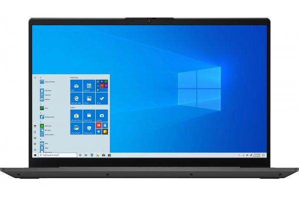 "Large image of Lenovo IdeaPad 5 15ITL05 15.6"" Graphite Gray Notebook Intel i7-1165G7 12GB RAM 512GB SSD, Iris Xe Graphics - 82FG00EQUS"