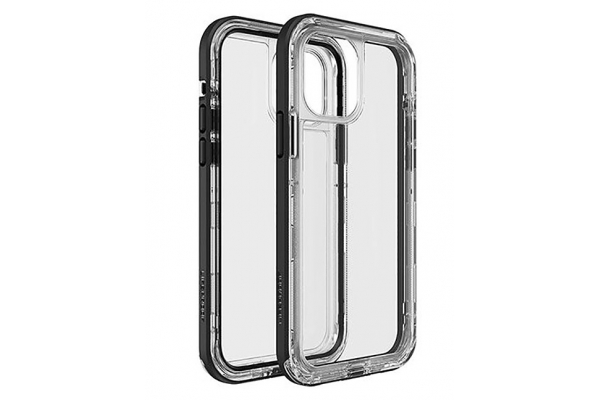 Large image of LifeProof Next Clear/Black Crystal Case For Apple iPhone 12 And iPhone 12 Pro - 77-65426