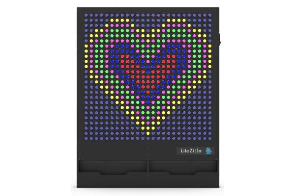 Large image of LiteZilla 4' Wide x 5' Tall Interactive Art Wall - MEDIUMZILLA