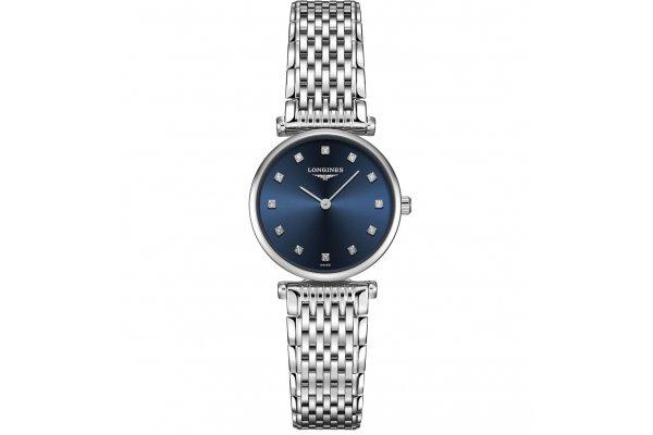 Large image of Longines La Grande Classique de Longines Sunray Blue Dial, Stainless Steel Watch, 24mm - L42094976
