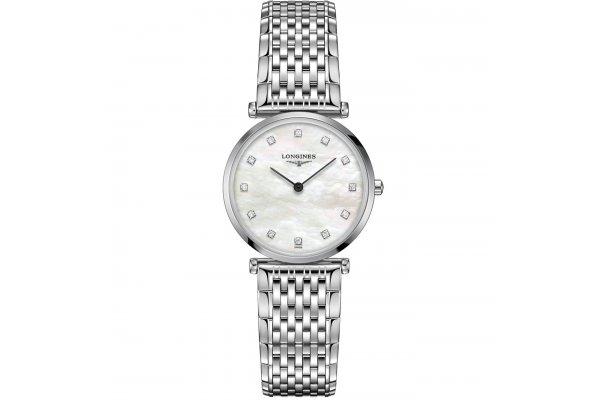 Large image of Longines La Grande Classique de Longines White MOP Dial, Stainless Steel Watch, 29mm - L45124876