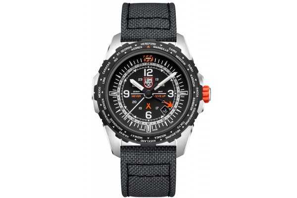 Large image of Luminox Bear Grylls Survival AIR Series 3761 Grey Strap Watch, 45mm - XB3761