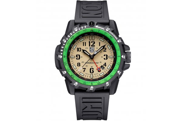 Large image of Luminox Sea Series Commando Raider Military Watch, Sand Dial, 46mm - XL3321