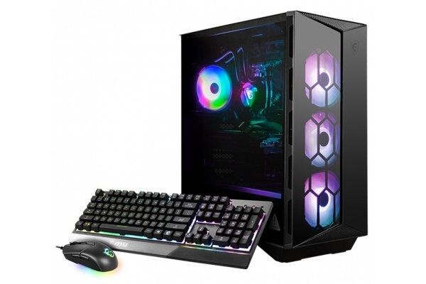 Large image of MSI Aegis RS 10TD-213US Black Gaming Desktop Intel Core i7-10700K 16GB RAM 1TB SSD + 2TB HDD, NVIDIA GeForce RTX 3070 - AEGRS10TD213