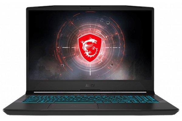 "Large image of MSI Crosshair 15 Titanium Gray 15.6"" 144Hz Gaming Laptop Intel Core i7-11800H 16GB RAM 512GB SSD, NVIDIA GeForce RTX 3050 - CROSSHAIR15264"