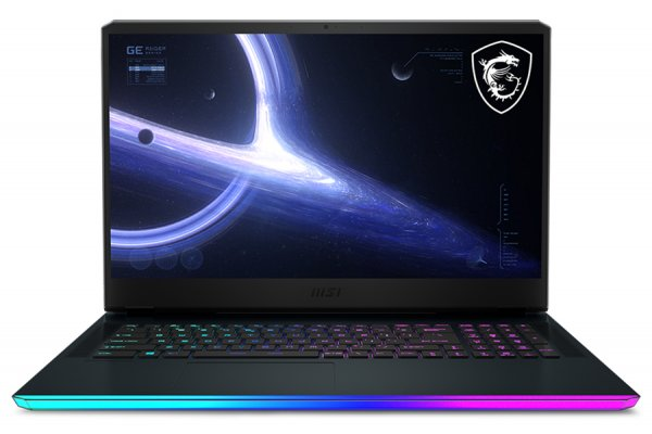 "Large image of MSI GE76 Raider Titanium Blue 17.3"" 360Hz Gaming Laptop Intel Core i9-11980HK 32GB RAM 1TB SSD, NVIDIA GeForce RTX 3080 - GE7611053"