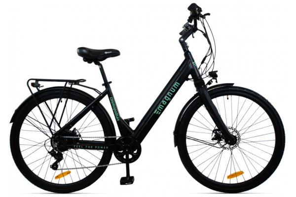 "Large image of Magnum Black ""Cosmo"" Cosmopolitan Gen II 350W Electric Bike - COSMO-BLK"