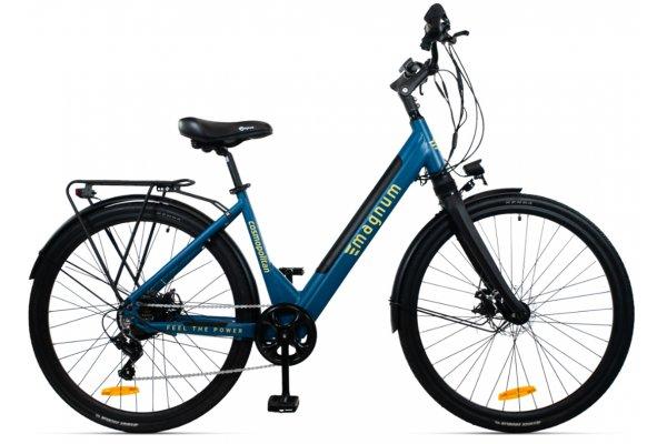 """Large image of Magnum Blue """"Cosmo"""" Cosmopolitan Gen II 350W Electric Bike - COSMO-BLU"""