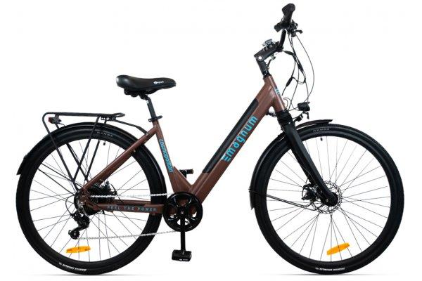 "Large image of Magnum Brown ""Cosmo"" Cosmopolitan Gen II 350W Electric Bike - COSMO-BRW"
