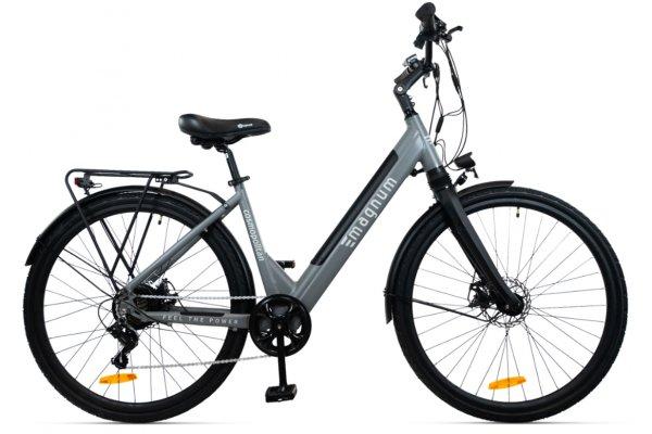 "Large image of Magnum Grey ""Cosmo"" Cosmopolitan Gen II 350W Electric Bike - COSMO-GRY"
