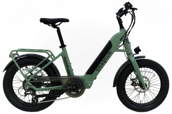Large image of Magnum Forest Pathfinder 500W Electric Bike - PATHFINDER-GRN-500W