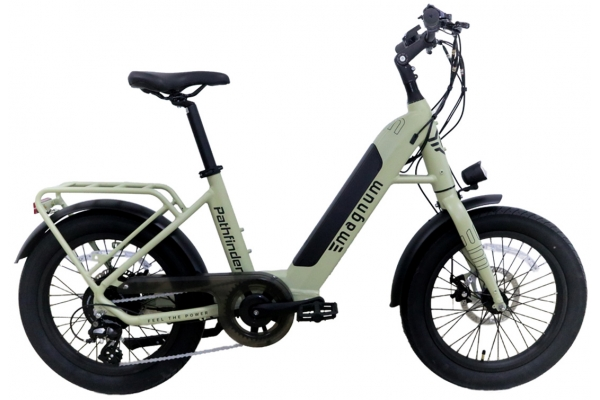 Large image of Magnum Sand Pathfinder 500W Electric Bike - PATHFINDER-SND-500W