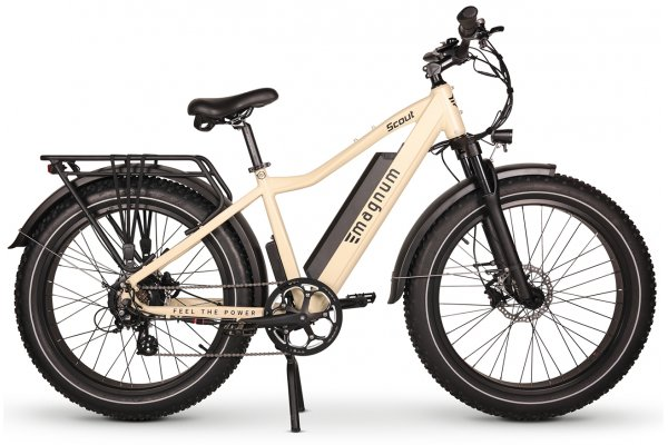 Large image of Magnum Sand Scout 750W Electric Bike - SCOUT-SND