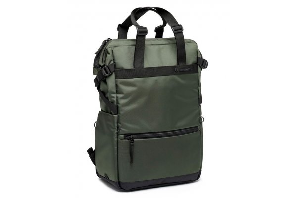 Large image of Manfrotto Street Dark Green Convertible Tote Bag - MB MS2-CT & PRO4341