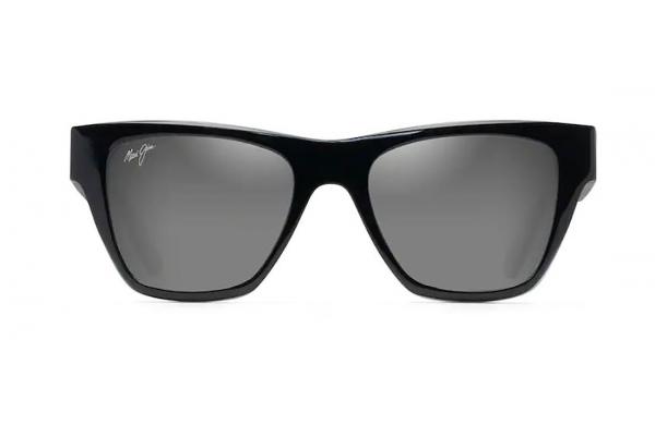 Large image of Maui Jim Ekolu Polarized Black & Tan Sunglasses, 53.5mm - DSB86702B