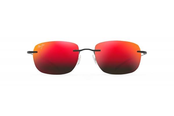 Large image of Maui Jim Nanea Oval Rimless Polarized Red Mirror Unisex Sunglasses - RM3322M