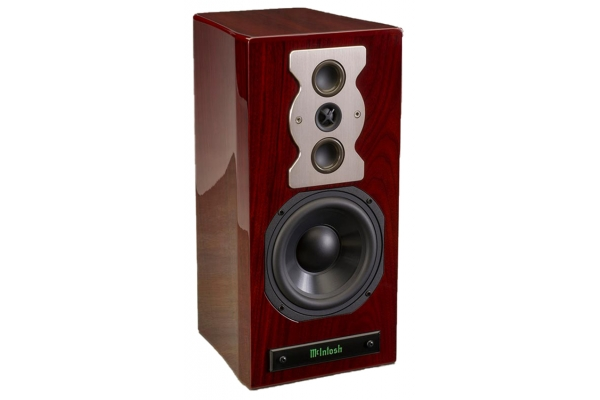 Large image of McIntosh XR50 Red Walnut Bookshelf Loudspeaker (Each) - XR50-RW