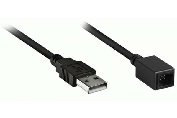"""Large image of Metra 12"""" USB Adapter Cable For Subaru 2015 And Up - AXUSBSUB2"""