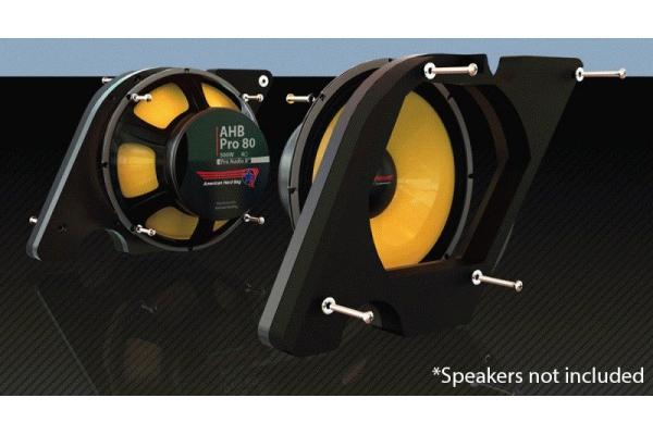 Large image of Metra Pro80 Audio Woofer Mount Kit For Harley-Davidson 98-Up - AGSRPRO-80