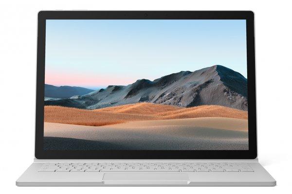 "Large image of Microsoft Surface Book 3 Platinum 13.5"" Tablet Computer Intel i7-1065G7 32GB RAM 512GB SSD, NVIDIA GeForce GTX 1650 With Max-Q - SLK-00001"