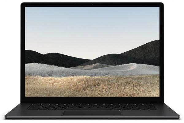 "Large image of Microsoft Surface Laptop 4 15"" Matte Black Laptop AMD Ryzen 7 4980U 8GB RAM 512GB SSD, AMD Radeon RX Graphics - 5W6-00024"