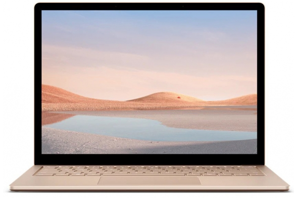 "Large image of Microsoft Surface Laptop 4 13.5"" Sandstone Laptop Intel i5-1135G7 8GB RAM 512GB SSD, Intel Iris Xe Graphics - 5BT-00058"