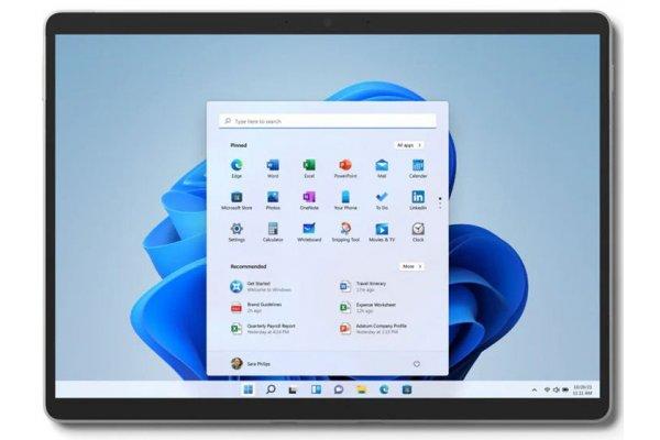 "Large image of Microsoft Surface Pro 8 Platinum 13"" Tablet Computer Intel i5-1135G7 8GB RAM 512GB SSD - EBP-00001"