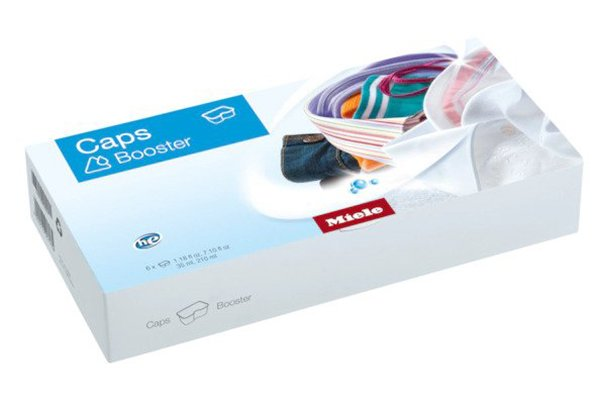 Large image of Miele 6-Pack Booster Capsules Stain Remover - 11703400