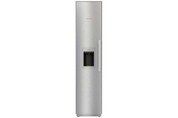 """Large image of Miele 18"""" MasterCool Stainless Steel Left-Hinge Built-In Full Freezer - F2472SF"""
