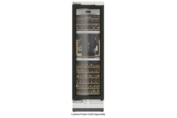 """Large image of Miele MasterCool 24"""" Custom Frame Built-In Wine Conditioning Unit - 10746080"""